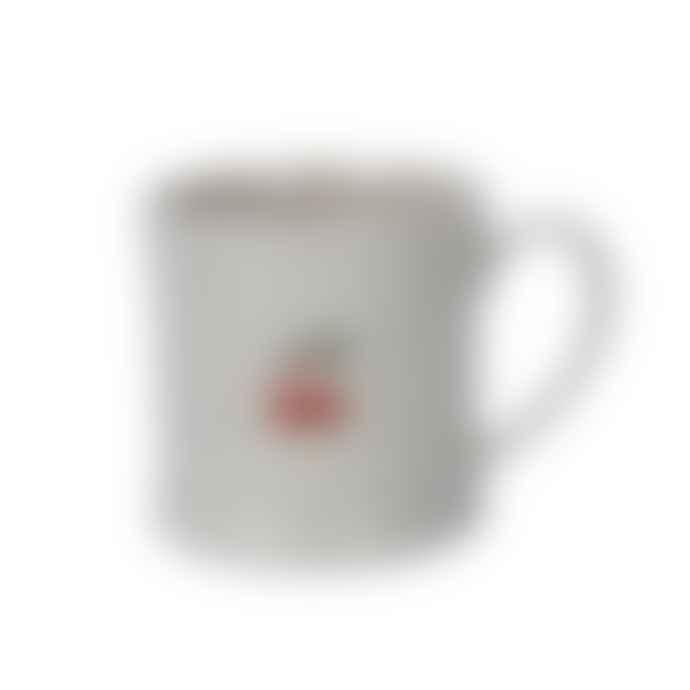 Gisela Graham Mini Ceramic Mug with Plum Pudding