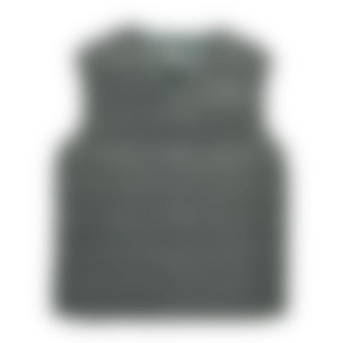 Taion Charcoal V Neck Down Vest