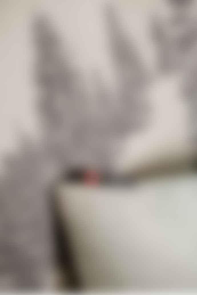 David Fussenegger Reversible Blanket With Winter  Fir Trees