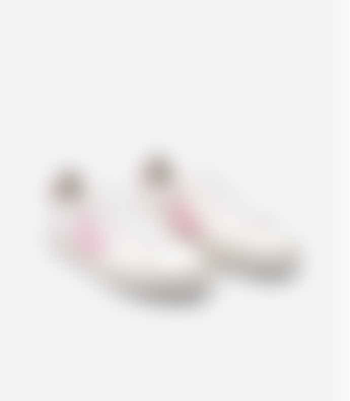 Veja Women Campo Trainers Shoes White Grimauve Marsala Chromefree Leather
