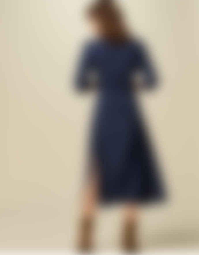 Sessun Navy Blue Miss Amiral Chelsie Chica Dress