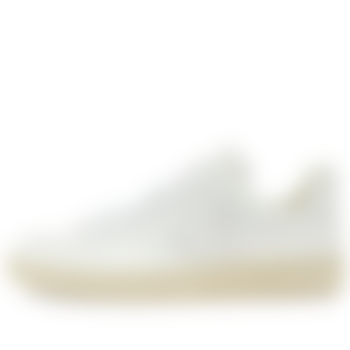Veja V-12 Leather Sneaker Triple White