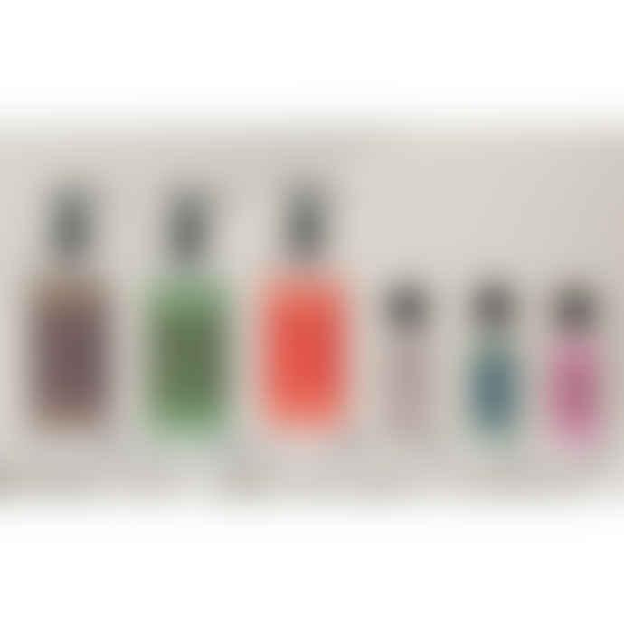 Puritx Set Of 3 Organic Just Natural Aloe Vera Vegan Hand Sanitiser 60 Ml Travel Size