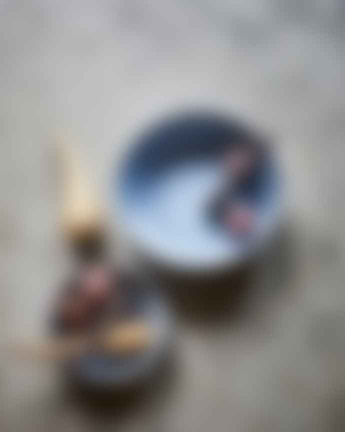 HKliving Rustic Grey Ceramic Bowl Large