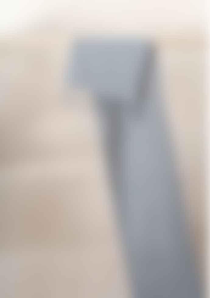 The Tartan Blanket Co. Lambswool Scarf In Grey Melange