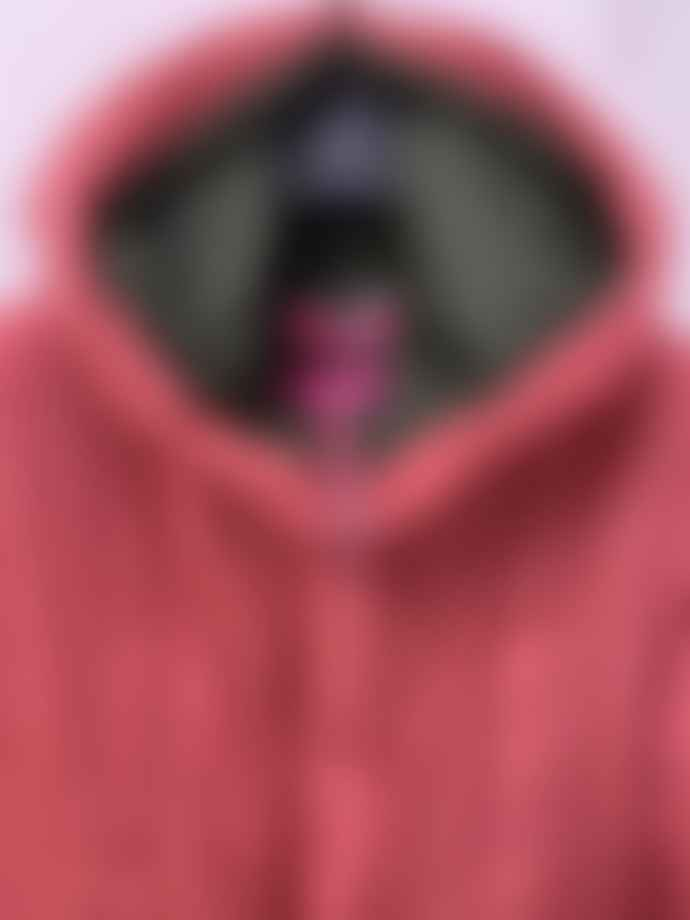 OOF WEAR Oofwear Long Reversible Parka Pink Khaki