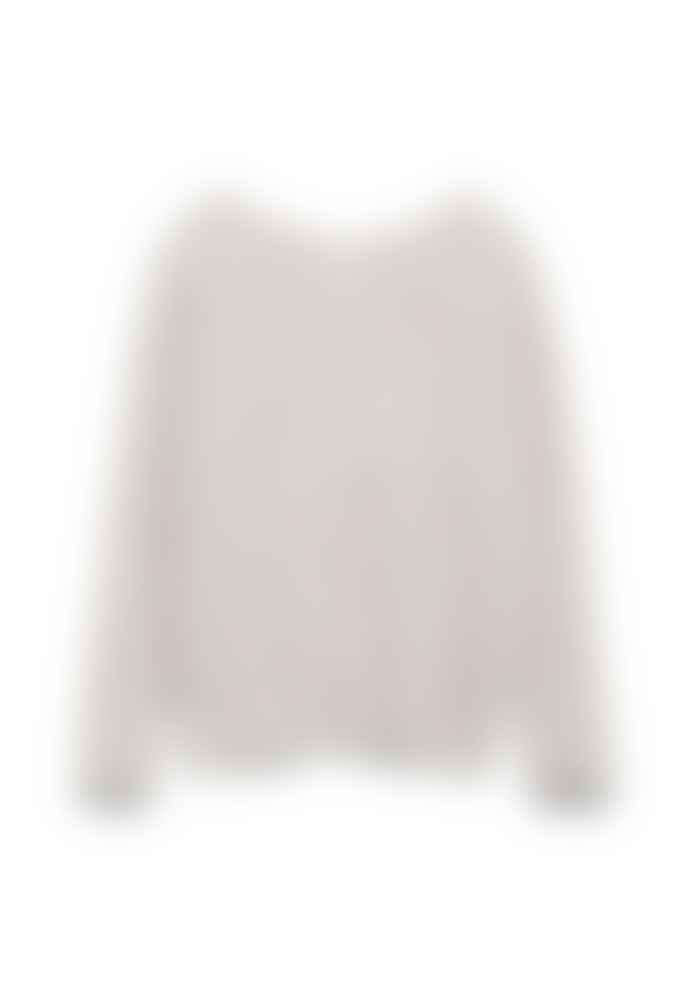 Armedangels Anaa Light Caramel Melange Alpaca Sweater