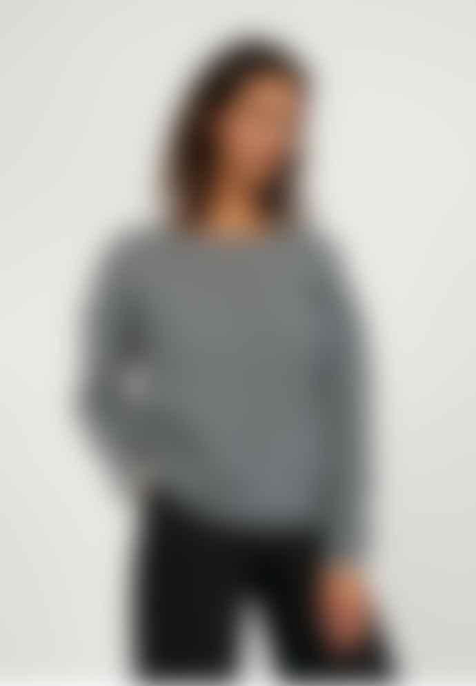 Armedangels Anaa Frozen Mid Grey Melange Alpaca Sweater
