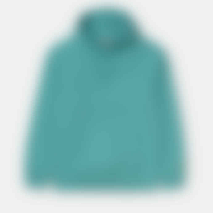 Carhartt Work in Progress Frosted Turquoise Hooded Chase Sweat