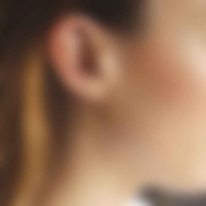 Tutti & Co Neptune Earrings Gold