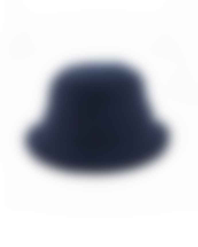 Outland Bob Wool Hat Navy Handcrafted In Portugal Last Piece
