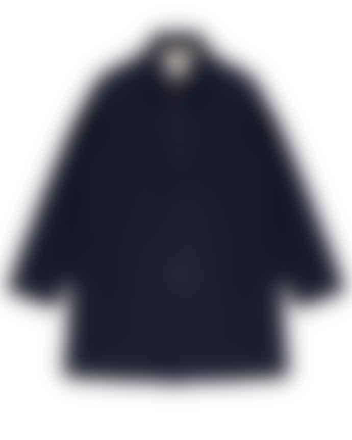 Outland Caufield Jacket Navy Handcrafted In Portugal Last Piece