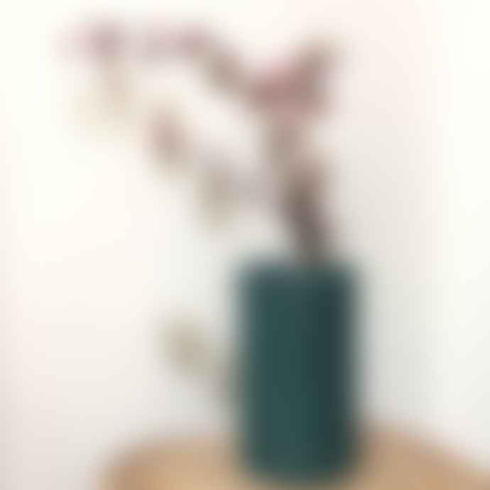 &klevering Green Bobbin Vase