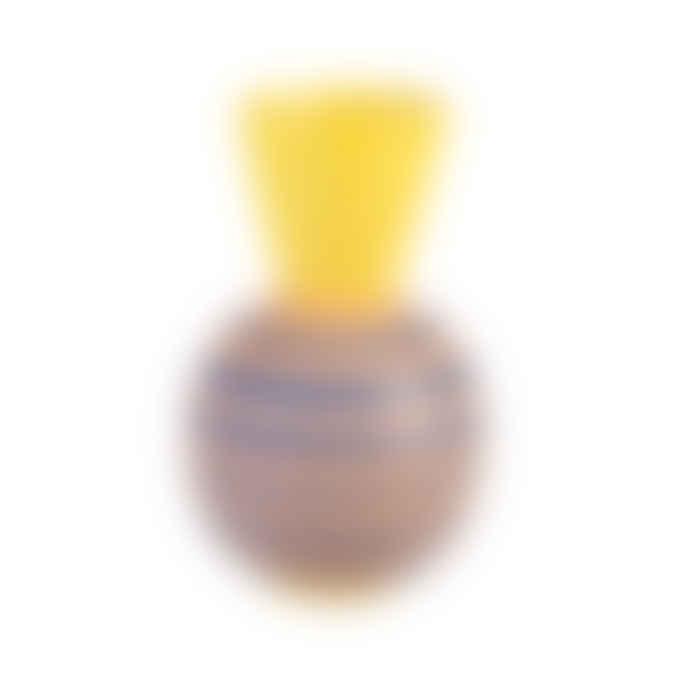 &klevering Terracotta Stripes Vase