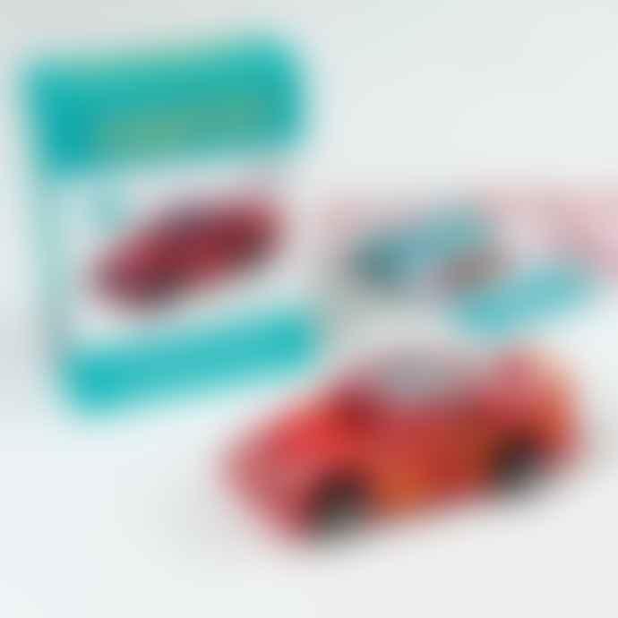 Rex London Racing Car To Wind Up Craft Set