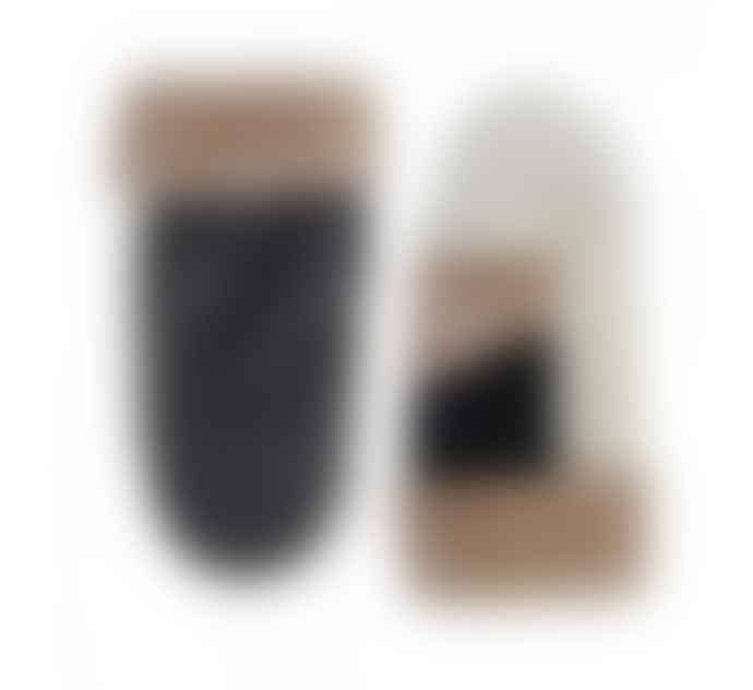 Markberg Catelyn Sheepskin Leather Mitten Caramel Off White