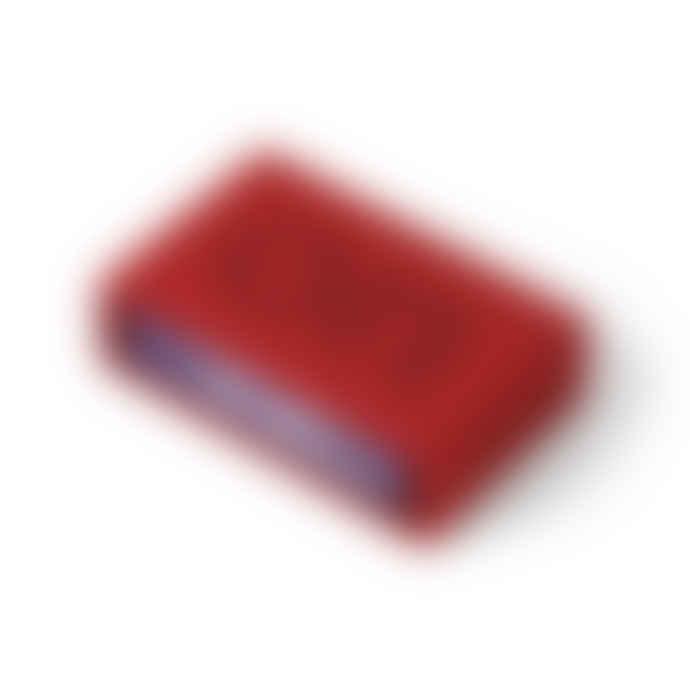 Lexon Design Red Flip + Alarm Clock