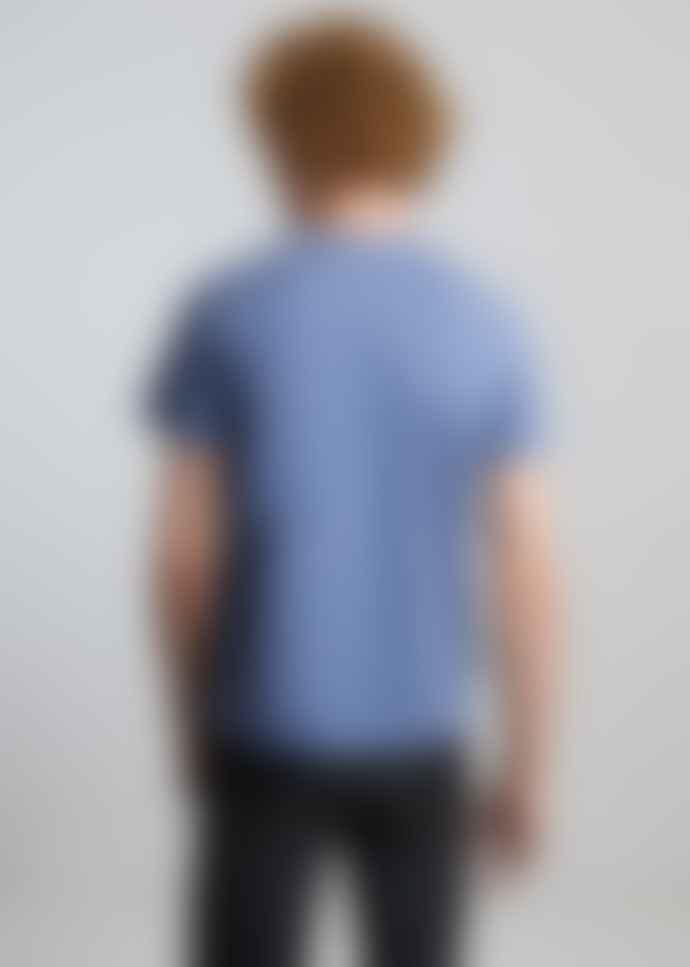 L'Exception Paris Blue Organic Cotton T Shirt