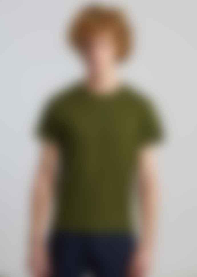 L'Exception Paris Khaki Organic Cotton T Shirt