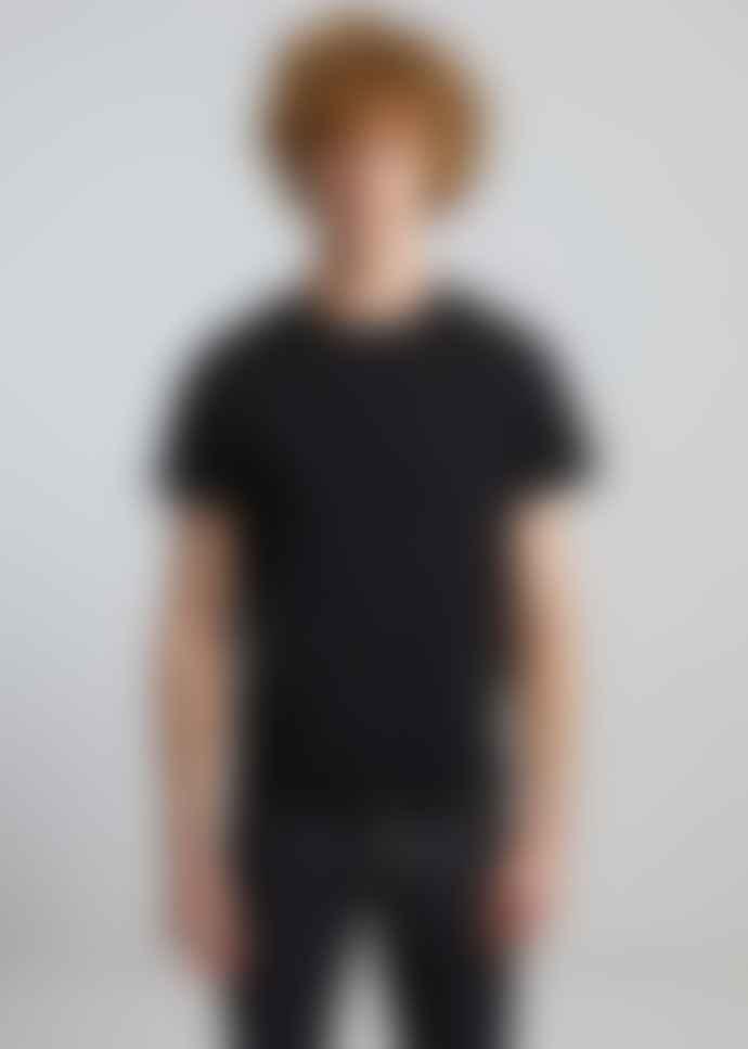 L'Exception Paris Black Organic Cotton T Shirt