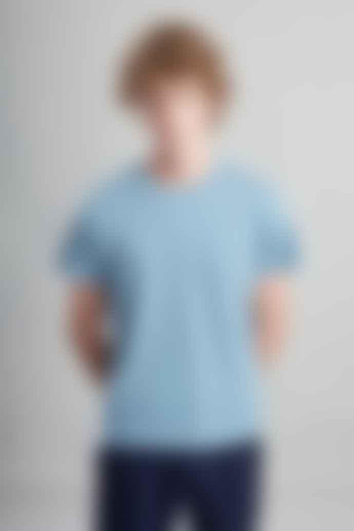 L'Exception Paris Light Blue Organic Cotton T Shirt