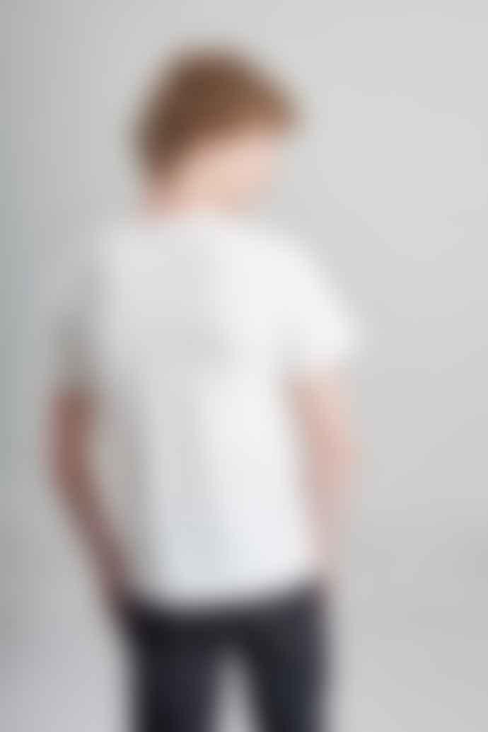 L'Exception Paris Off White Organic Cotton T Shirt
