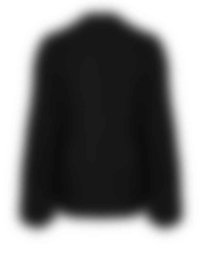 Dante6 Ayden Knitted Cable Cardigan Black