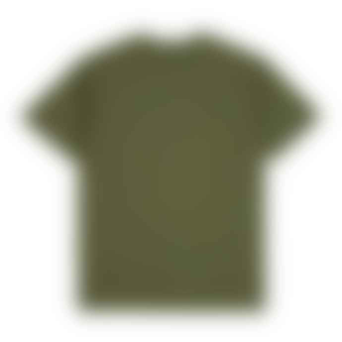 Brixton X Strummer Know Your Rights SS Tee Shirt Military Green