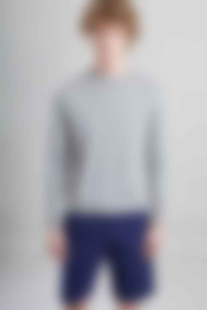 L'Exception Paris Gray Organic Cotton Sweater