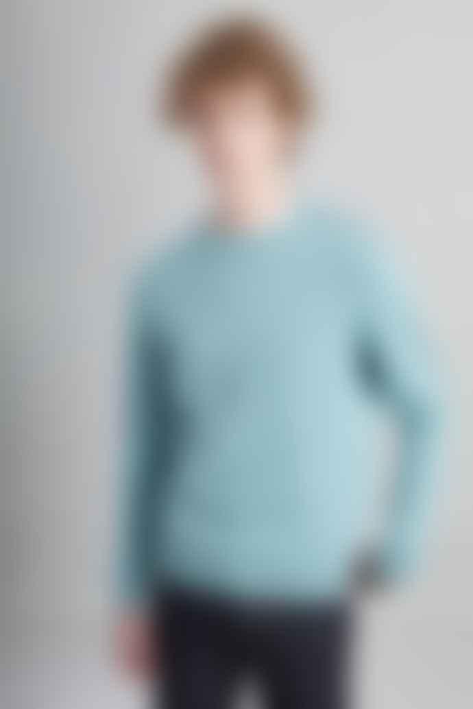 L'Exception Paris Sky Blue Organic Cotton Sweater