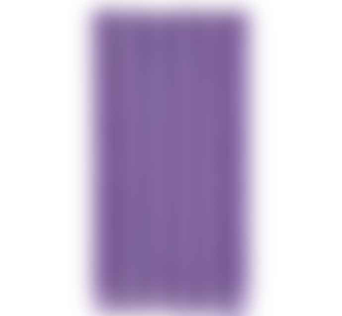 British Colour Standard Pack of 6 Doge Purple Eco Dinner Candles