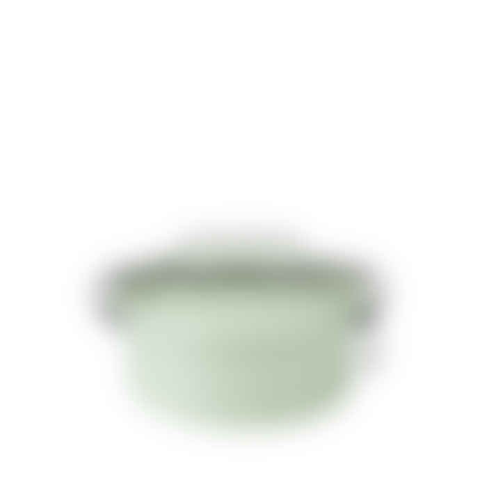 Riess 0.75L Pastel Green Round Airtight Container