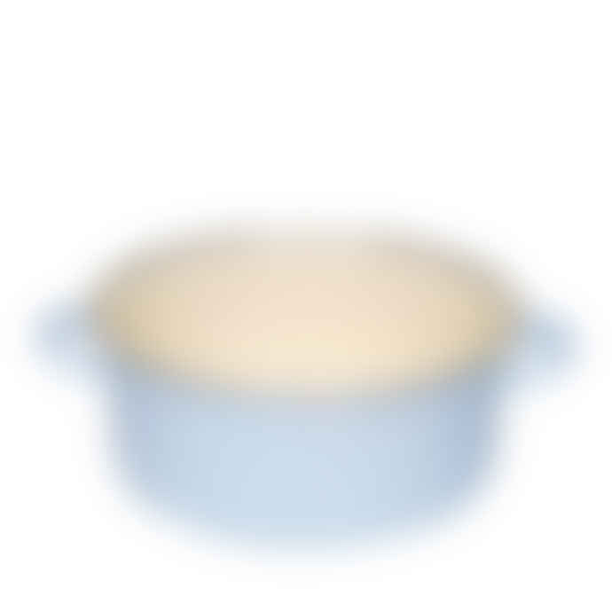 Riess 4L Pastel Blue Pot with Lid