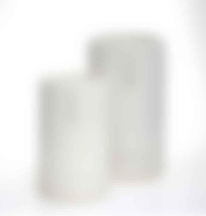 Madam Stoltz Tall Face Imprint Plant Pot