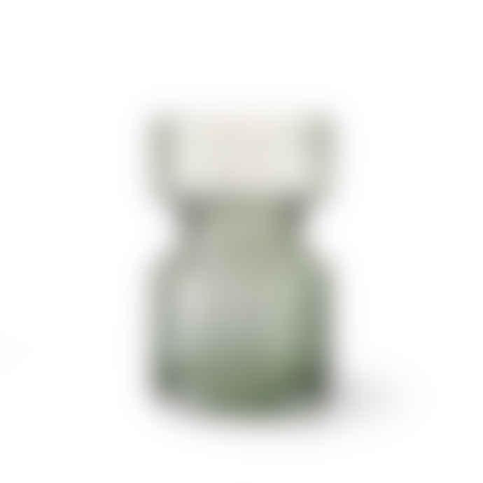 HKliving Green Glass Vase