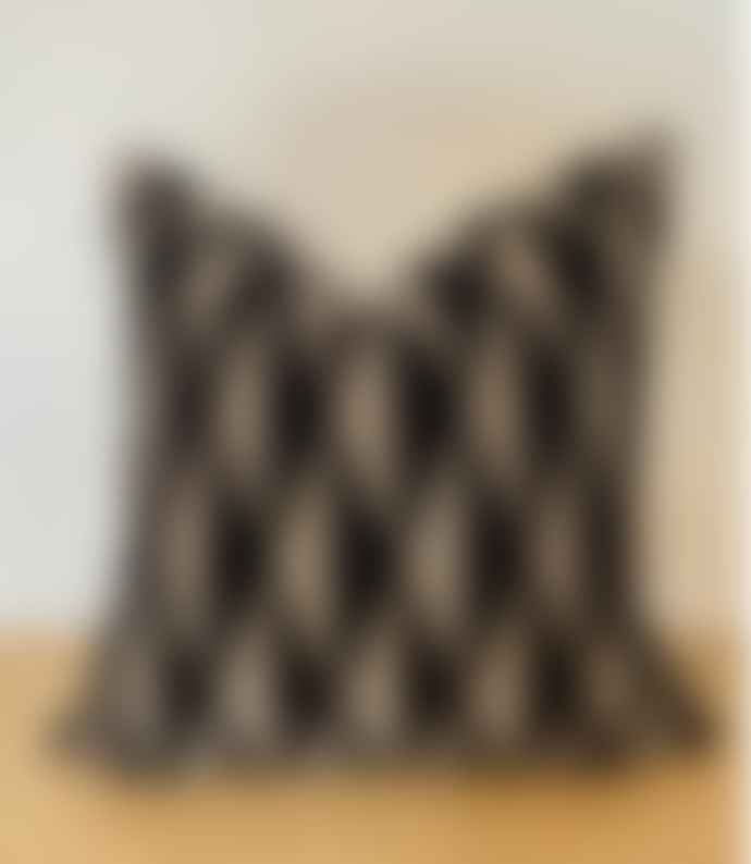 Bramley & White 50 X 50 Cm Style Library Black Velvet Scatter