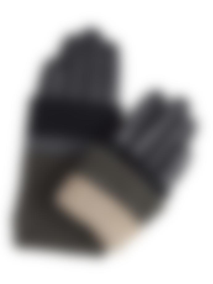 Markberg Helly Glove, Black + Gray + Olive