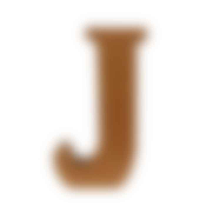 Essent'ial J Recycled Cardboard Letter