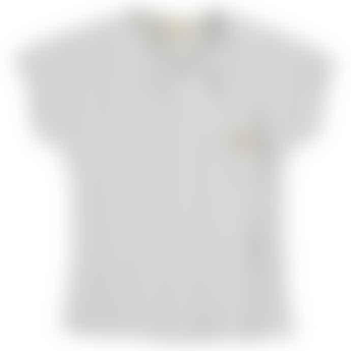 Bean's Barcelona Pine Asymmetrical Ribbed Organic Cotton T Shirt
