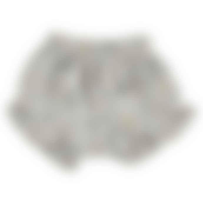 Bean's Barcelona Pearl Gray Culottes in 100% Waterlily Organic Cotton Muslin
