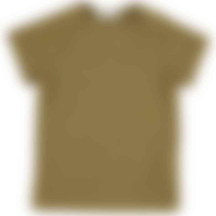 Bean's Barcelona  Dusty Mustard Clover Organic Cotton T Shirt