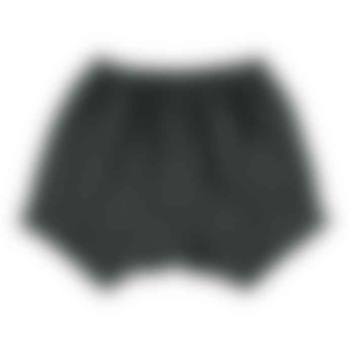 Bean's Barcelona Anthracite Organic Cotton Cactus Shorts