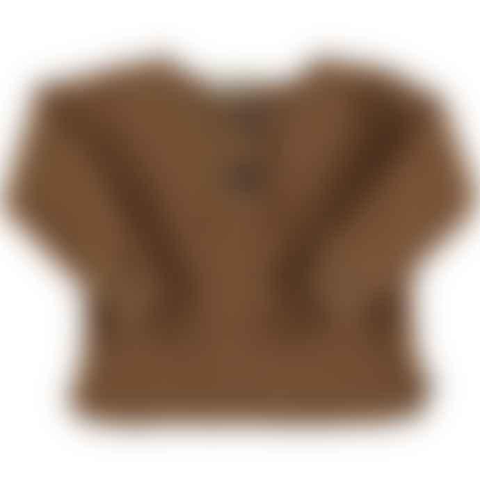 Bean's Barcelona Caramel Warm Acorn Sweatshirt