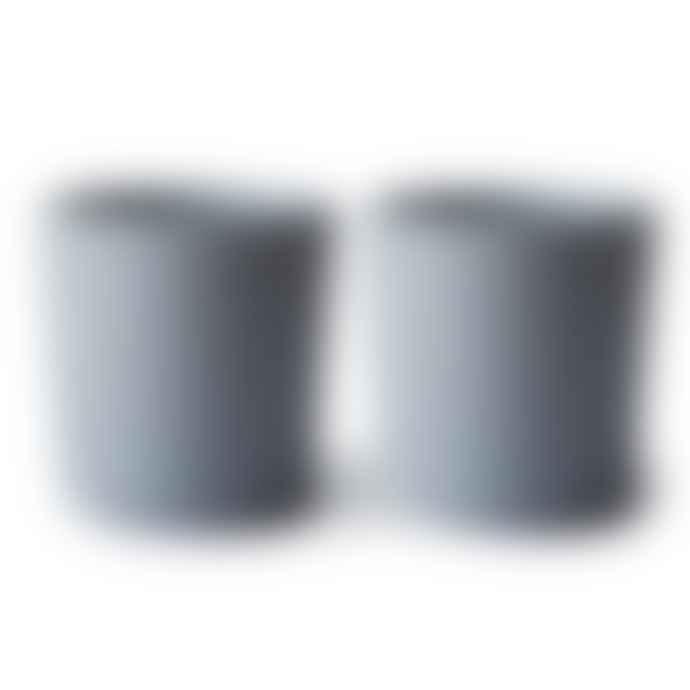 Mushie Set Di 2 Bicchieri Nuvola Di Pioggia