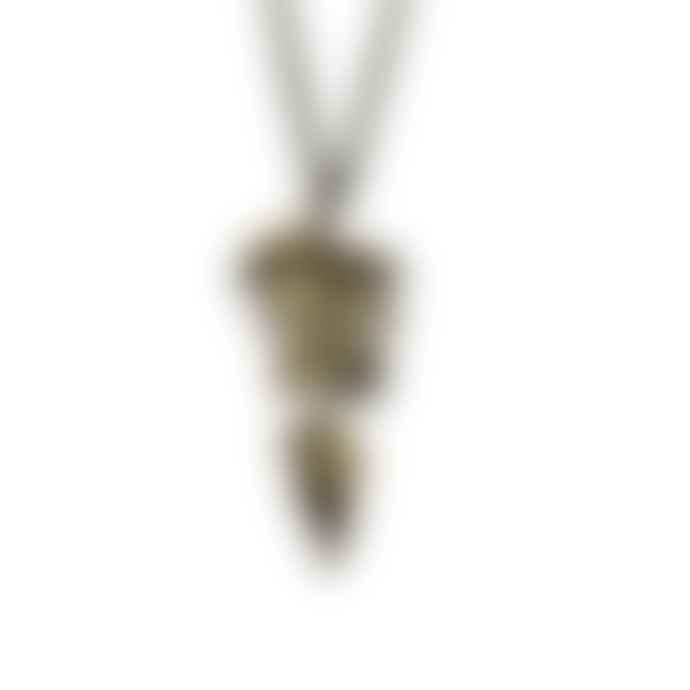 Michael Michaud Fern Bronze Necklace