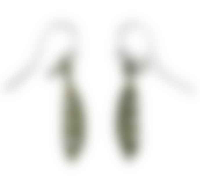 Michael Michaud Petit Pea Pod Earrings with Freshwater Pearls