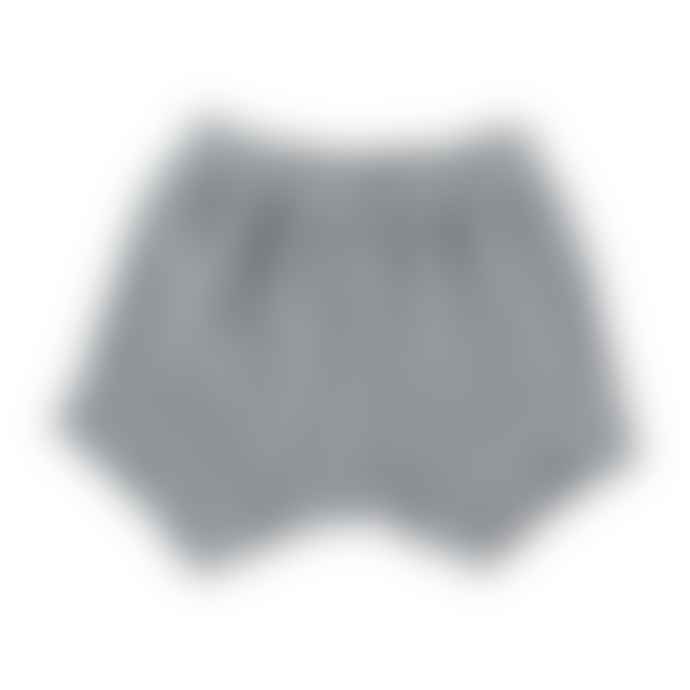 Bean's Barcelona Gray Terry Organic Cotton Pearl Shorts