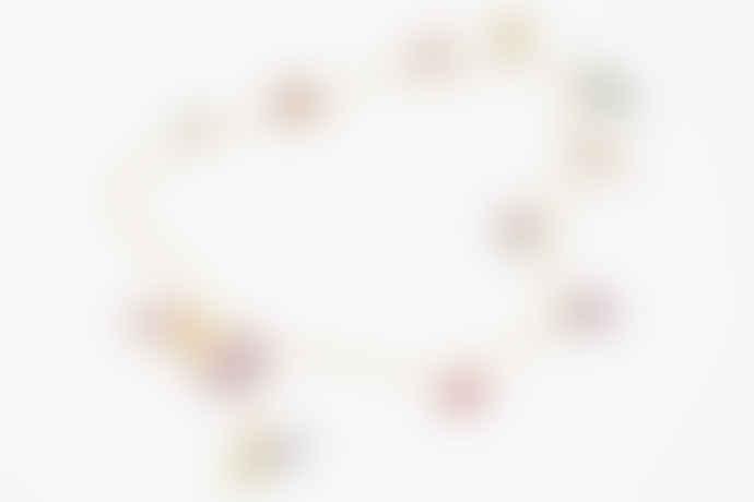 Susan Alexandra Tiiny Joys 9 Charms Necklace