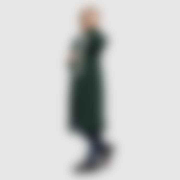 Selfhood Milla Wool Coat Emerald Green