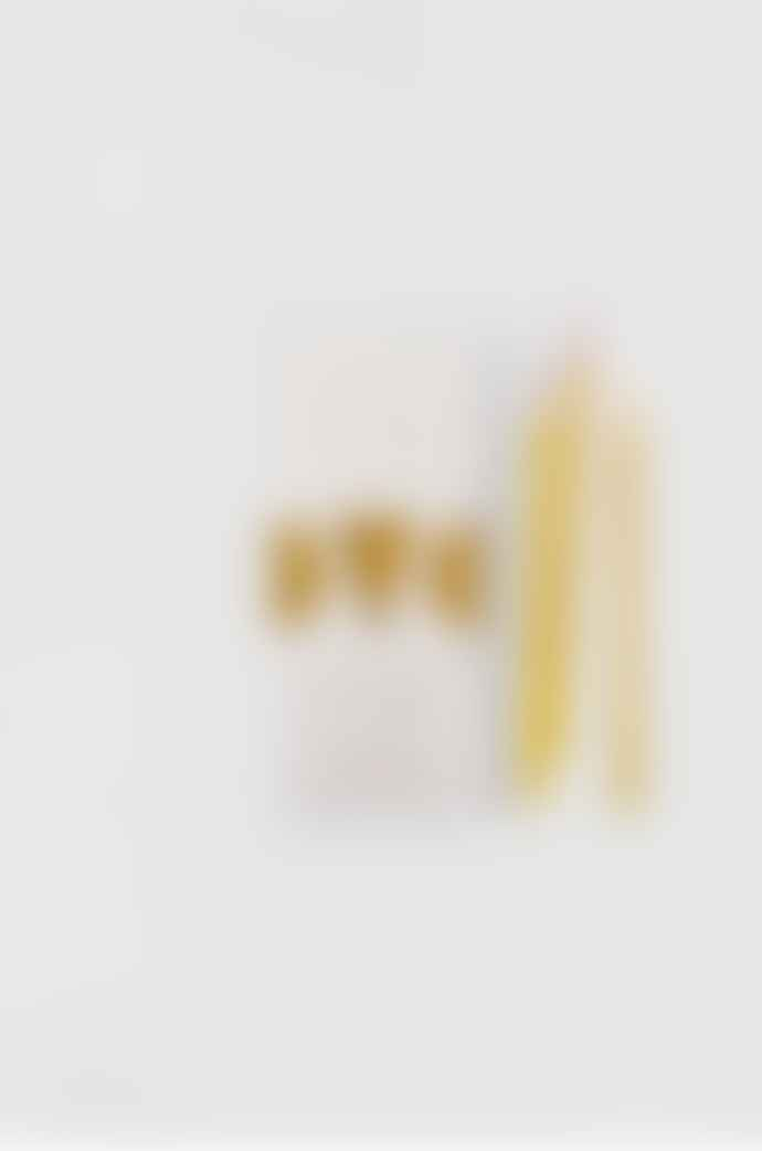 Ovo Things Pure Beeswax Birthday Candles with Cotton Wicks - X10